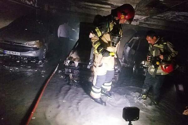حریق هولناک در تهران ، 30 نفر نجات یافتند