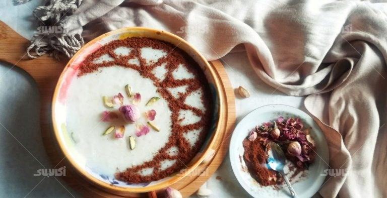 طرز تهیه شیر برنج برای افطار