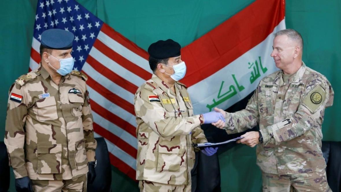 توافق واشنگتن و بغداد بر سر کاهش نظامیان آمریکایی در عراق