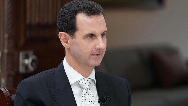 تسلیت بشار اسد در پی انفجار بیروت