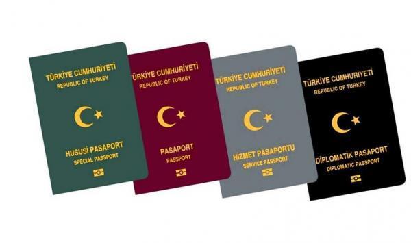 آنالیز انواع پاسپورت ترکیه