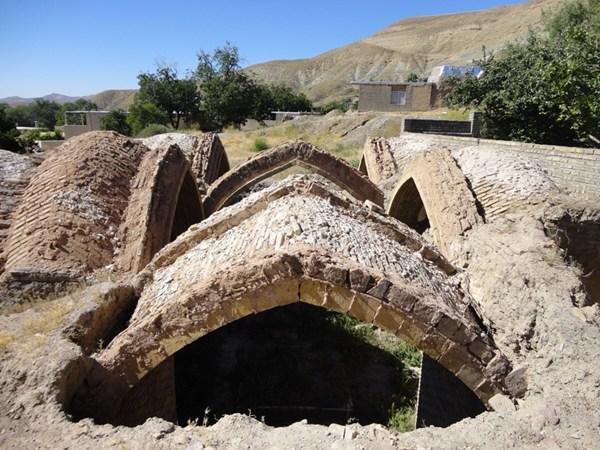 حمام تاریخی روستای خوئین، عکس