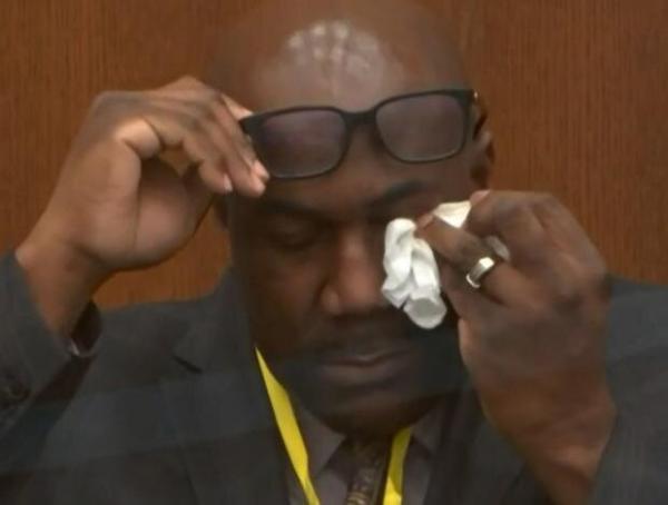ادای شهادت برادر جورج فلوید در دادگاه