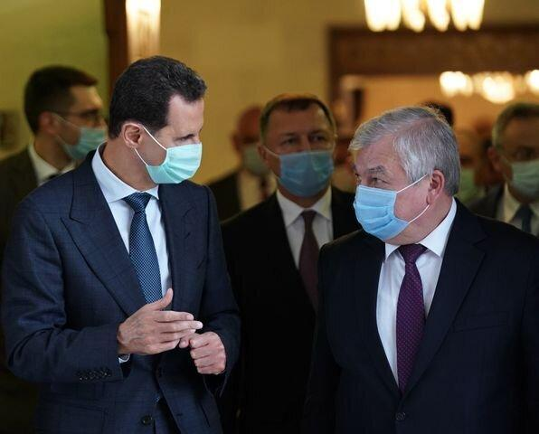 ملاقات بشار اسد با فرستاده پوتین در دمشق